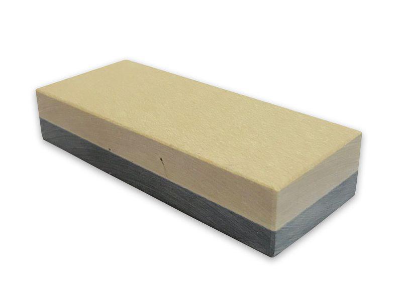 Камень точильный (Coticule+Schist), 8000/0 Grit, гранатовый сланец и подложка (204AC)