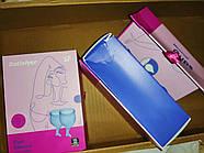 Набор менструальных чаш Satisfyer Feel Secure (dark blue) (мятая упаковка), фото 2