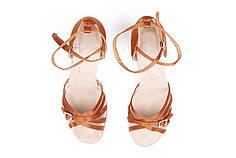Туфли для бальных танцев Rivage Line ZZ 117 7 см сатин, кедр