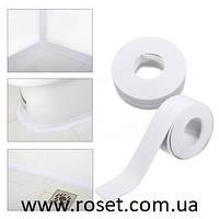 Бордюрная клейкая лента для ванной и кухни 40 мм х 3,2 м
