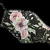 """Детская защитная маска для лица Солодкий Сон, хлопковая, двухслойная """"Звезды"""" Черный S"""