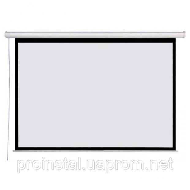 """Экран моторизированный AV Screen 150"""" 289x217 4:3 Matte White 3V150MEV (150XEV-S)"""