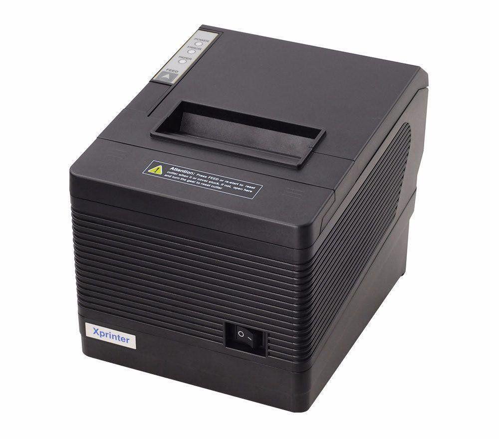 POS-принтер чеков Xprinter XP-Q260IIINK USB+COM+LAN чековый термопринтер 80мм с автообрезкой