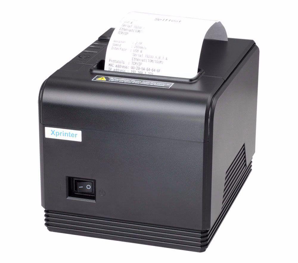 POS-принтер Xprinter XP-Q200 LAN чековый термопринтер 80мм с автообрезкой