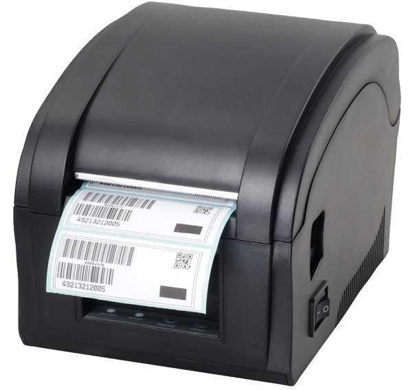 Термопринтер для печати этикеток и чеков, Xprinter 2 в 1 XP-360B