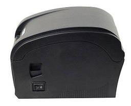 Термопринтер для печати этикеток и чеков, Xprinter 2 в 1 XP-360B, фото 2