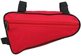 Велосипедная сумка 1,5L Loren ARS101 red, красная