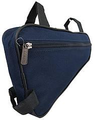 Велосипедная сумка 2L Loren ARS103 navy, синяя