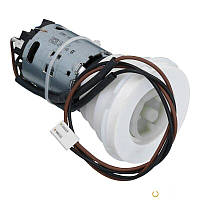 Двигатель вертикальный кофемолки с редуктором и проводами (в сборе) Saeco