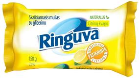 Хозяйственное мыло Ringuva 72% с лимоном (150г.)