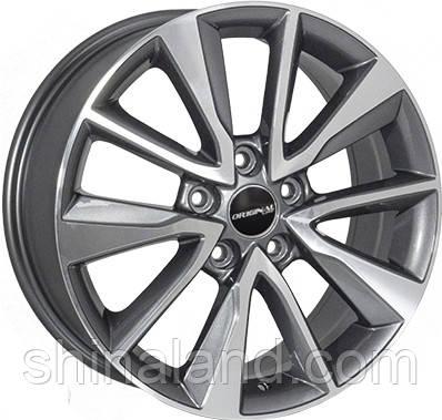 Диски Zorat Wheels JH-A5527 Grey 7x17 5x114,3 ET52 dia67,1 (GMF)