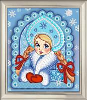 """Схема для вышивки бисером """"Снегурочка"""""""