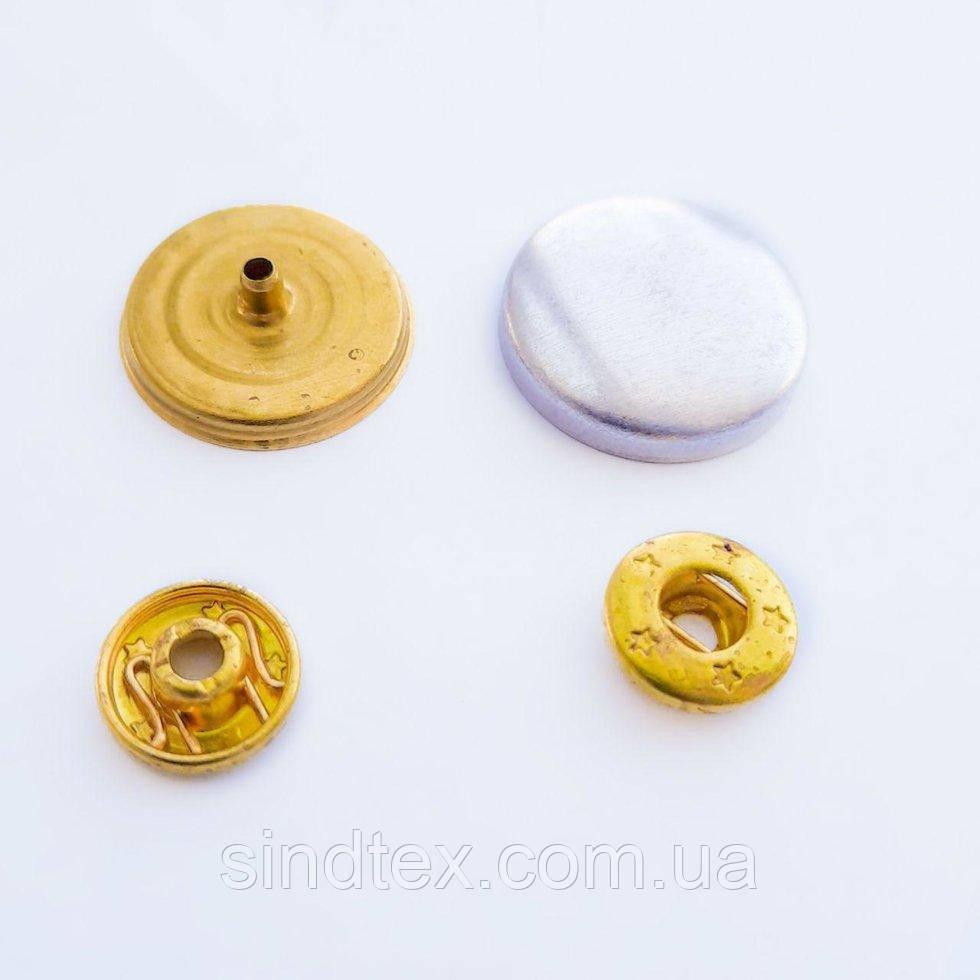 1000шт. Пуговица под обтяжку на кнопочной ножке №36 - 21,8 мм (ИР-0057)