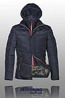 Куртка зимняя мужская BLACK LEOPARD WOLF 158152 тёмно-синяя, фото 1