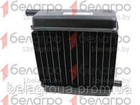 80-8101900 Радиатор МТЗ отопителя (медь-лат) 3-ряд (патрубки в разн стор.) , РФ