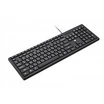 Клавиатура 2E KM1020 Slim (2E-KM1020UB) Black USB, фото 2