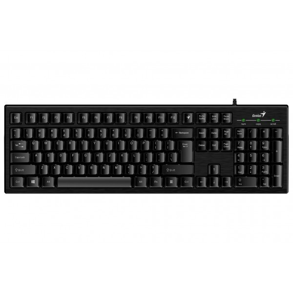 Клавиатура Genius Smart KB-101 (31300006410) Ukr Black USB