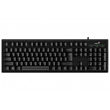 Клавиатура Genius Smart KB-101 (31300006410) Ukr Black USB, фото 2