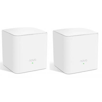 WiFi Mesh система Tenda Nova MW5s (MW5S-KIT-2) (AC1200, 1xGE WAN/LAN, 1xGE LAN, Beamforming, MESH, MU-MIMO, 2, фото 2