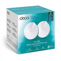 WiFi Mesh система TP-Link Deco M5 2-pack (AC1300, 2xGE LAN/WAN, Bluetooth, MESH, MU-MIMO, 4 антенны, 2-pack), фото 3