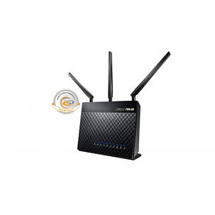 Беспроводной маршрутизатор Asus RT-AC68U (AC1750, 1*Wan, 4*LAN Gigabit, 1*USB3.0, 1*USB2.0, 3 антенны), фото 2