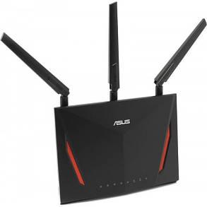 Беспроводной маршрутизатор Asus RT-AC86U (AC2900, 1*Wan, 4*LAN Gigabit, 1*USB3.0, 1*USB2.0, 3 антенны), фото 2