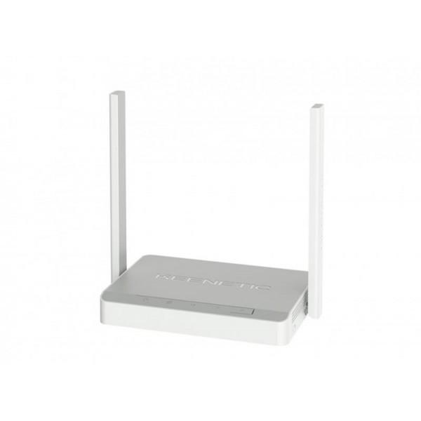 Беспроводной маршрутизатор KEENETIC Lite (KN-1311) (N300, 5xFE, 2 антенны)