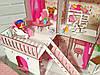 Домики для маленьких кукол Домик «Солнечная Дача» + мебель + текстиль + ДВОРИК + ФЕРМА высота этажа - 20 см, фото 6