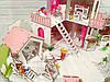 Домики для маленьких кукол Домик «Солнечная Дача» + мебель + текстиль + ДВОРИК + ФЕРМА высота этажа - 20 см, фото 7