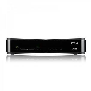 Межсетевой экран ZYXEL VPN2S(VPN2S-ZZ0101F) (1xGE WAN, 1xGE LAN/WAN, 3xGE LAN, 2xUSB2.0, включена подписка, фото 2