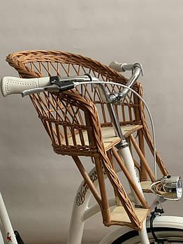 Велокрісло з лози на кермо