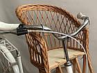 Велокрісло з лози на кермо, фото 2
