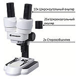 Микроскоп Bresser Junior Stereo 20х-50x, фото 2