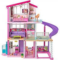 Игровой набор Барби Дом мечты Barbie Dreamhouse Playset with Pool, Slide and Elevator FHY73