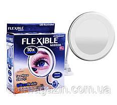 Зеркало косметическое 10X Ultra Flexible Mirror, фото 2