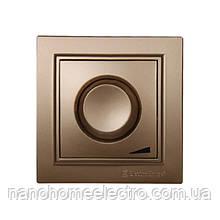 Диммер 600W Enzo Роскошно-золотой