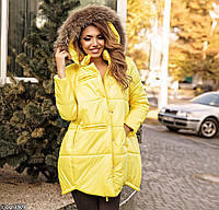 Куртка с натуральным мехом(3 цвета), фото 1