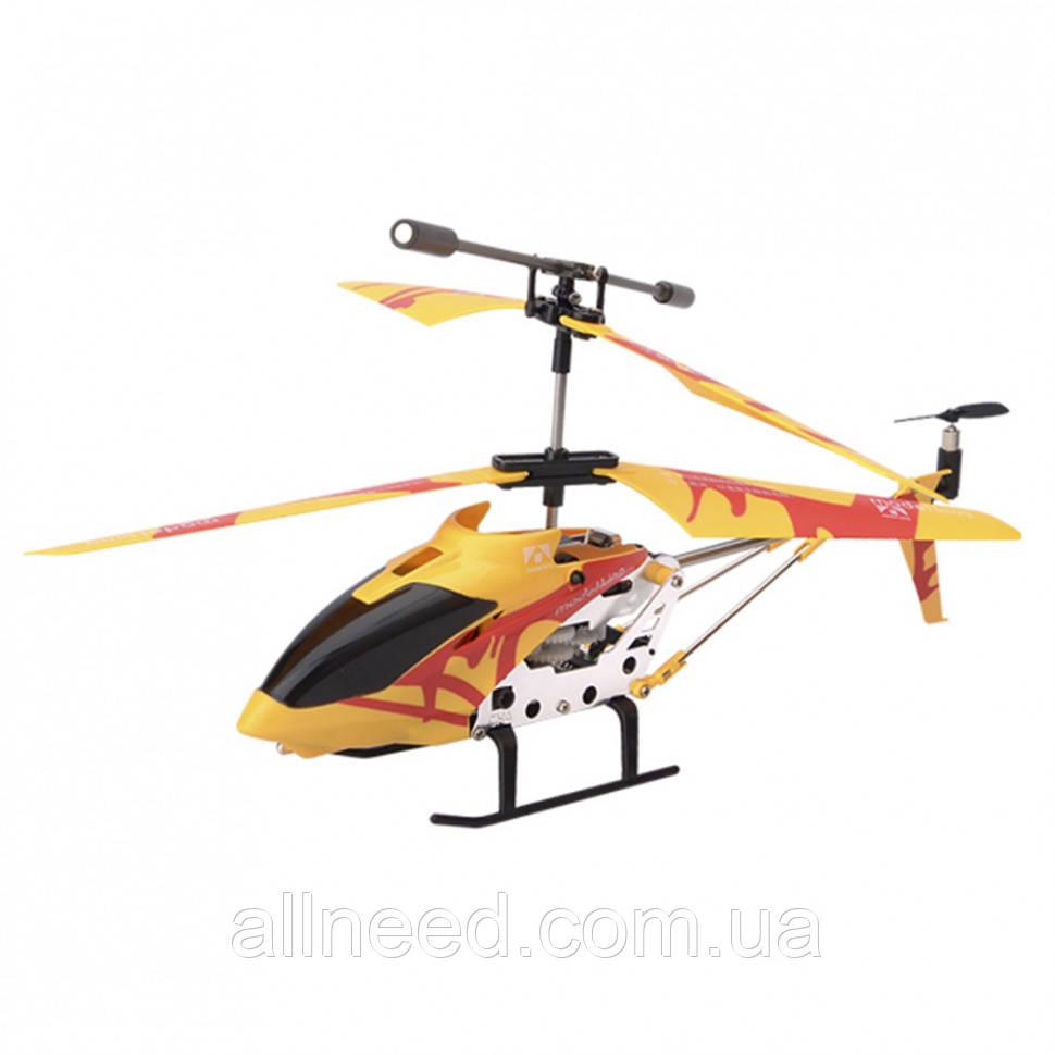 """Вертолёт на радиоуправлении """"Model King"""" (Желтый)"""