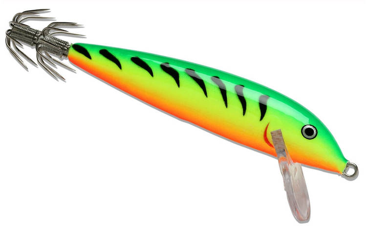 Воблер тонущий Rapala CountDown Squid 11 длина 11см вес 16гр, фото 2