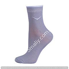 Женские носки для спорта светло серый