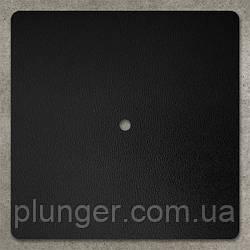 Підкладка квадратна ущільнена c отвором 20 х 20 см, ДВП Чорний
