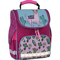Рюкзак школьный каркасный с фонариками Bagland Успех 12 л. малиновый 617 (00551703), фото 1