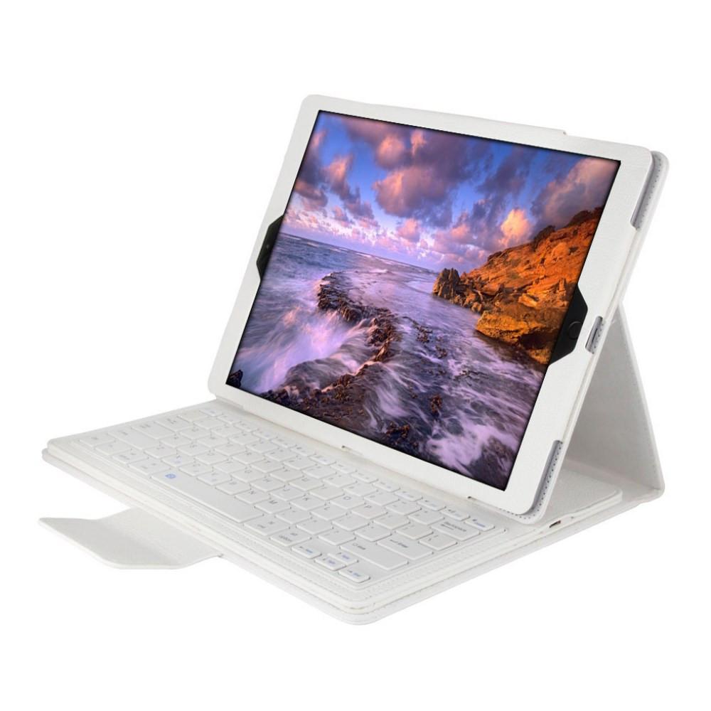 Чехол клавиатура Bluetooth для планшета iPad Pro 12.9 белый