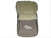 Спальный мешок-конверт на овчине  стандарт
