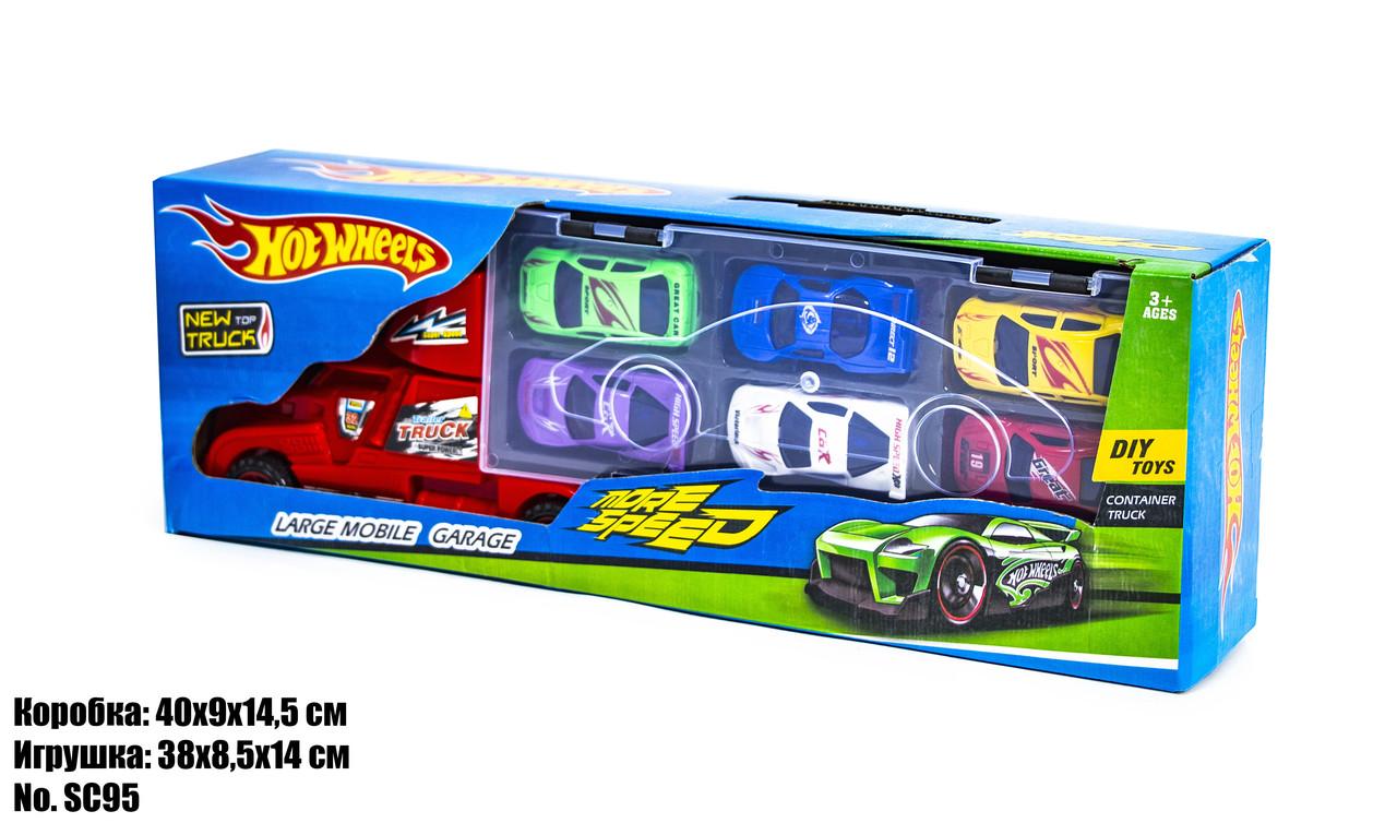 Набор машинок Hot Wheels SC95