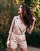 Комбинезон женский (шорты) AniTi 096, бежевый, фото 2