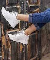 Кроссовки женские белые натуральная кожа Kelly Corso