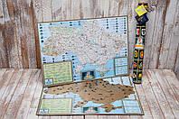Скретч карта Украины My Native Map (на украинском языке )