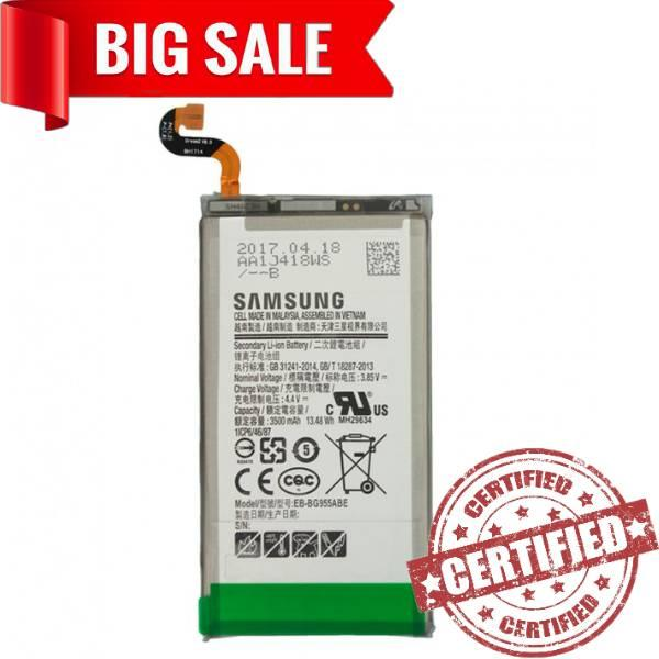 Акумулятор ORIGINAL Samsung G955/S8+ (BE-BG955ABE) 3500 mAh