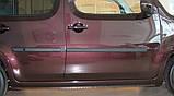 Молдинги на двері для Nissan Cube Z12 2008-2020, фото 2